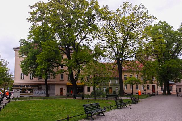 Auf dem Spandauer Reformationsplatz