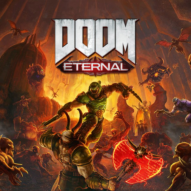 Thumbnail of DOOM Eternal Standard Edition on PS4