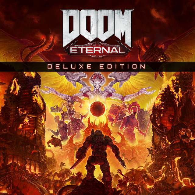 Thumbnail of DOOM Eternal Deluxe Edition on PS4