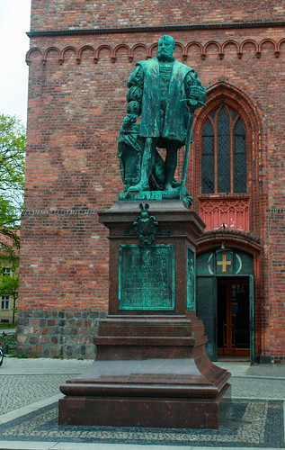 Das Denkmal für Kurfürst Joachim II.