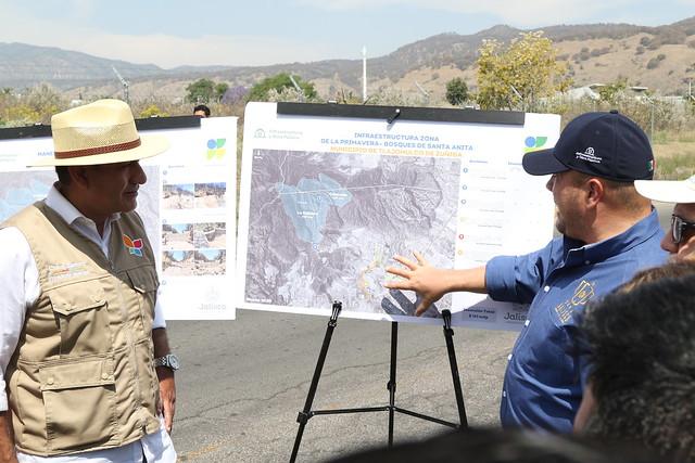 Activación de obras en Bosques de Santa Anita