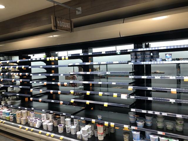 Whole Foods Shelves - Yogurt - 3-16-20