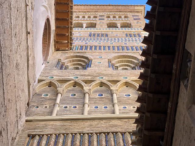 Torre de la catedral de Santa María de Mediavilla (Teruel)