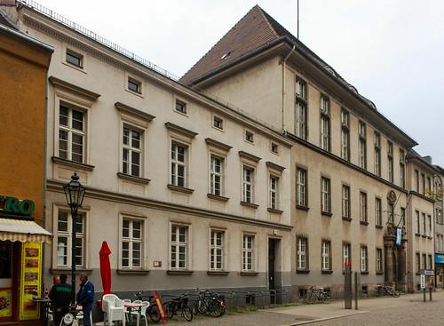 Das ehemalige Kant-Gymnasium in Spandau