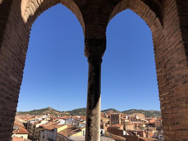 Vistas de Teruel desde la Torre de El Salvador