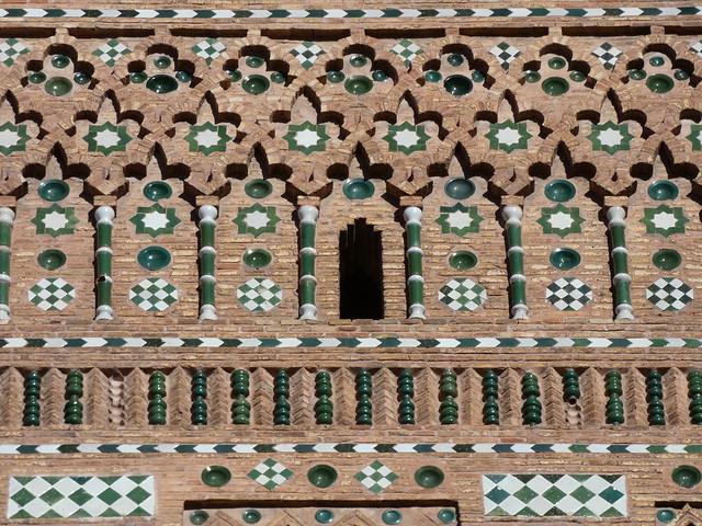 Detalle de ornamento mudéjar en Teruel
