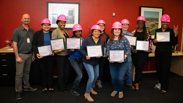 First Woman's Construction Academy Graduation 031320