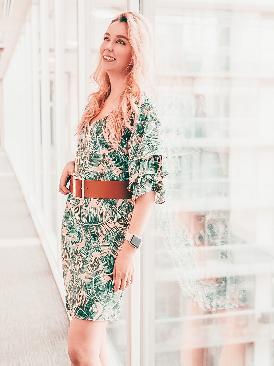 What I wore: Palm Dress