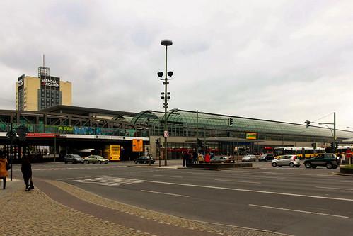 Der Bahnhof Spandau