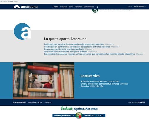 Amarauna, la web semántica educativa vasca se hace pública