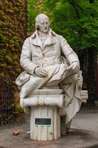 Das Denkmal für Freiherr von und zum Stein