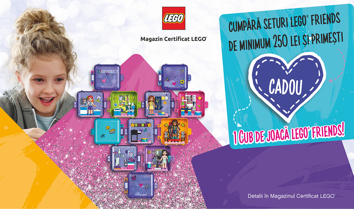Cadou Cub LEGO® Friends