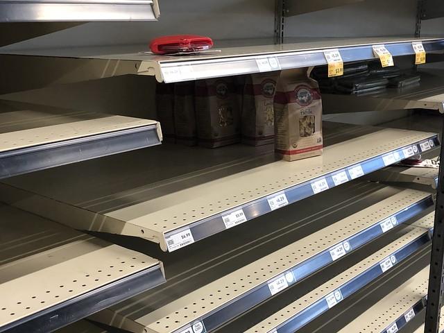 Whole Foods Shelves - Pasta- 3-16-20
