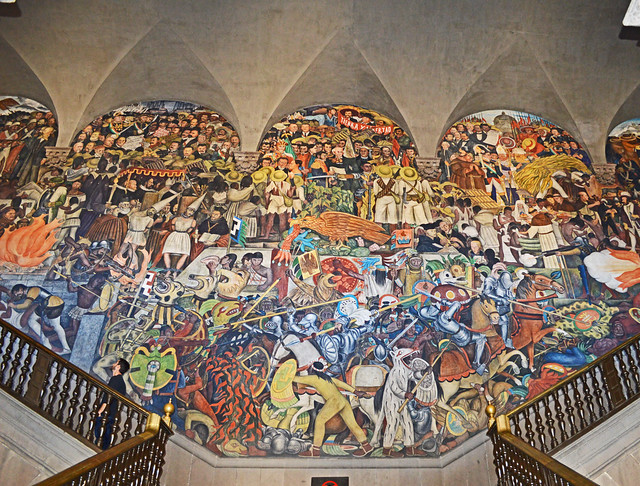 The History of Mexico - by Diego Rivera
