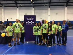 Hawaiian Electric at the Hawaii State Middle School VEX IQ Championships — Feb. 29, 2020: Mahalo to all our volunteers who made this event possible!