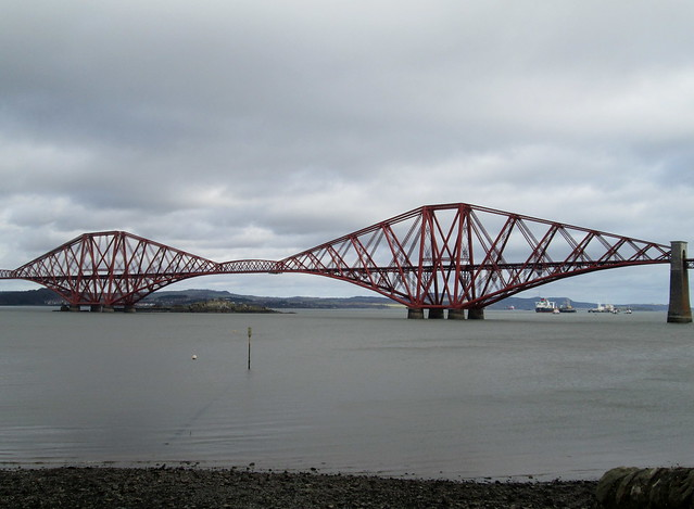 Forth Bridge, South Queensferry, River Forth, Scotland