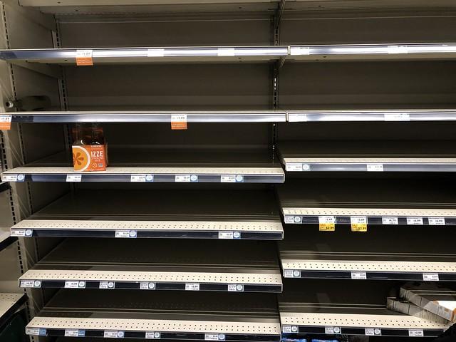 Whole Foods Shelves - 3-16-20 - Izze Clementine
