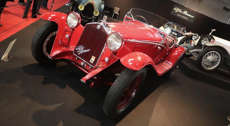 Alfa Romeo 1750/6C Brianza Grand Sport 1932 - 49667324456_32ae1c8527_c