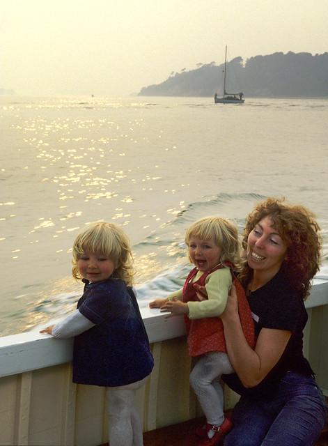 Brownsea ferry 1977