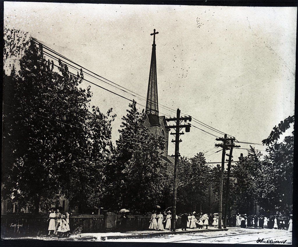 Street View in Nashville in 1909