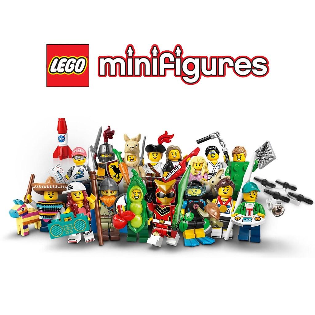 超可愛的草泥馬女孩必收~! LEGO 71027【樂高人偶抽抽包第二十彈】LEGO Collectible Minifigures Series 20