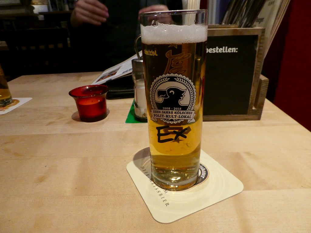 Kolsch, the local beer of Cologne