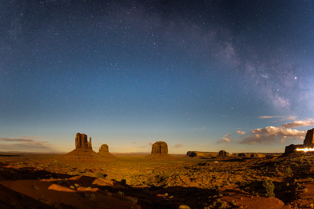 Milky Way & Monument Valley