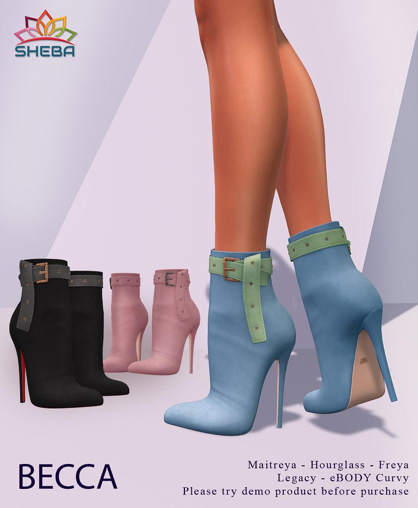 [Sheba] Becca Boots @Sense event