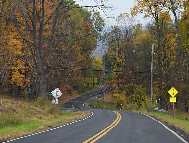 Winding Into Fall-Ulysses, NY