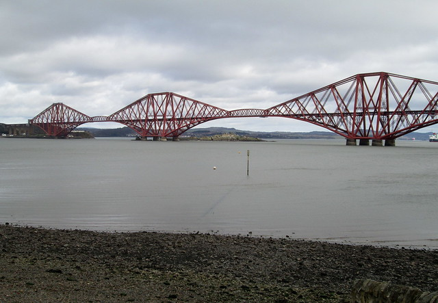 Forth Bridge, railway bridge, River Forth, Scotland