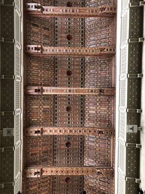 Techumbre mudéjar de la catedral de Teruel