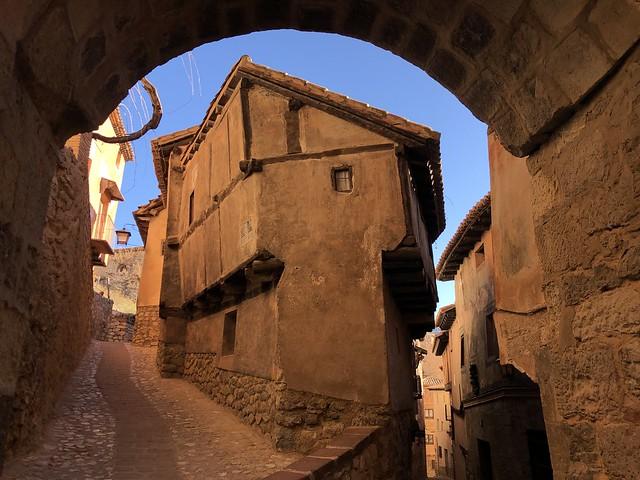 Calle de Albarracín (Teruel)
