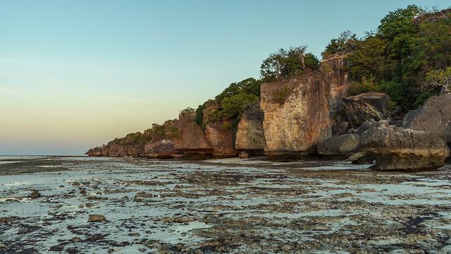 Sabu. Agar agar cliffs