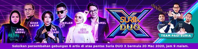 Suria Perkenalkan Suria Duo X
