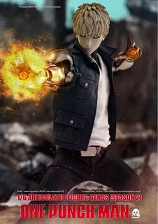 魔鬼生化人參戰!! threezero《一拳超人》傑諾斯 (第二季) Genos (Season 2) 1/6 比例人偶 標準版/豪華版