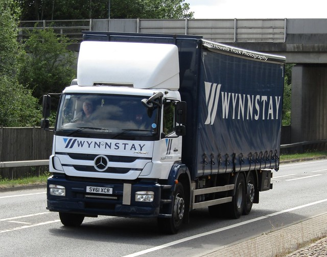 Wynnstay SV61 XCR At Welshpool