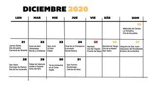 Reorganizar calendario