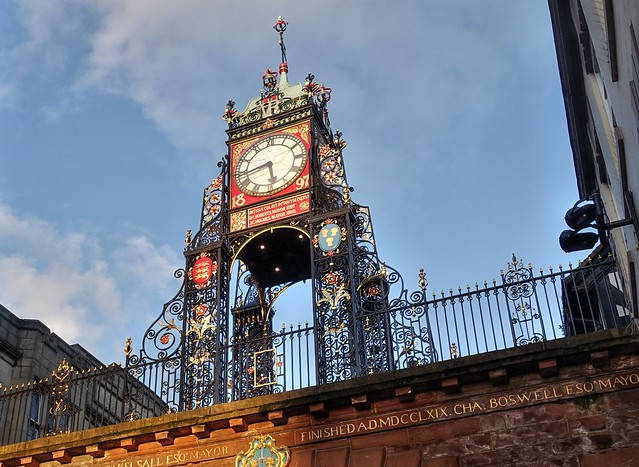 Eastgate and Eastgate Clock, Chester - Explored