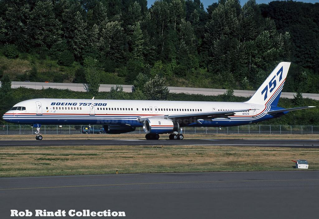 Boeing Company B757-330 N757X