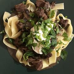 #beef #stroganoff #comfortfood #homemade #Food #CucinaDelloZio -