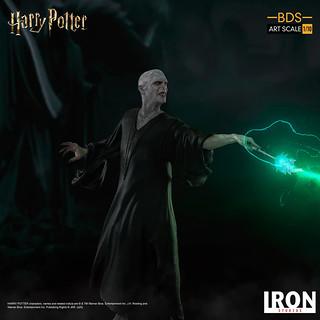 與黑魔王的正面對決!Iron Studios BDS系列《哈利波特》哈利波特 v.s 佛地魔 1/10 比例決鬥場景雕像作品(Harry Potter / Voldemort   BDS Art Scale)