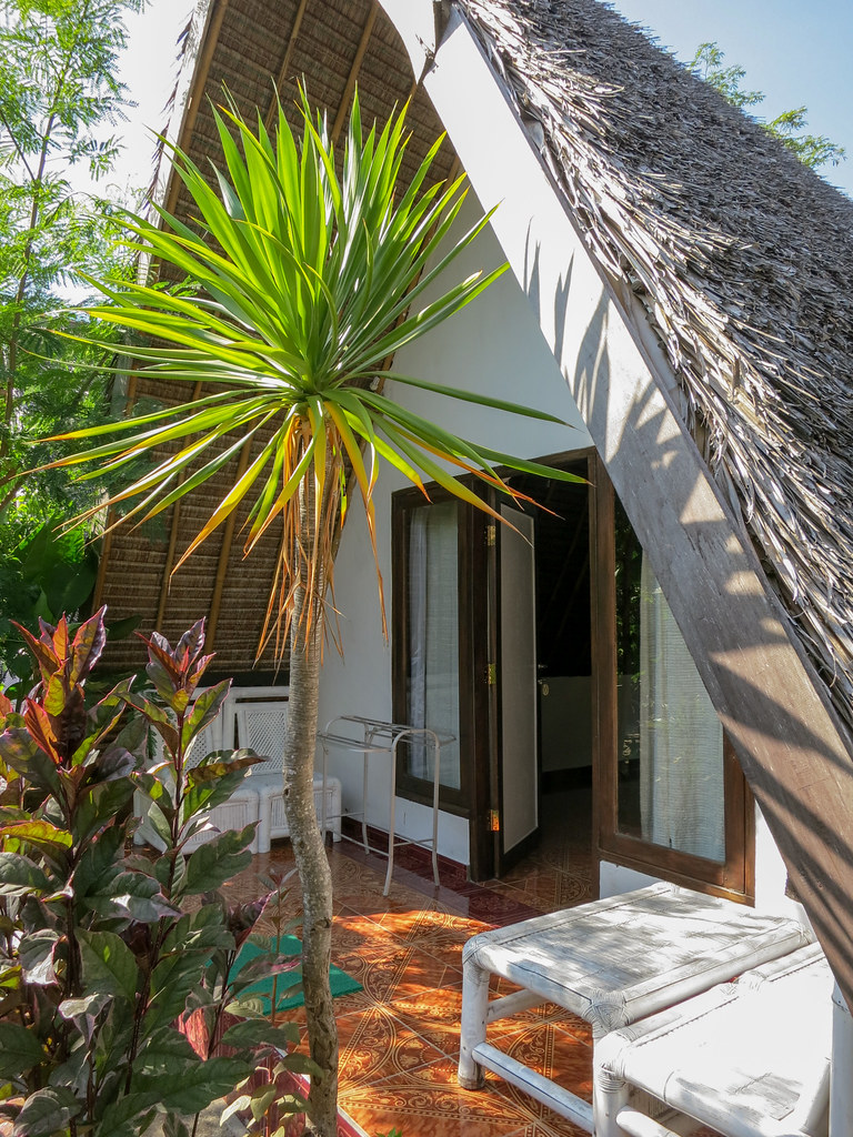 Aquaddiction Bungalows budget rooms