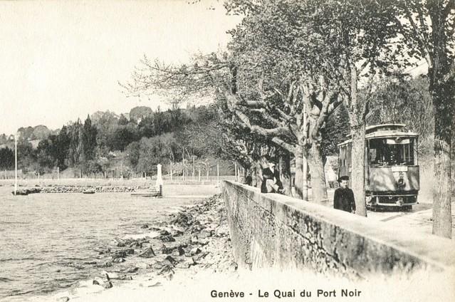 Trams de Genève (Anciennes cartes postales)