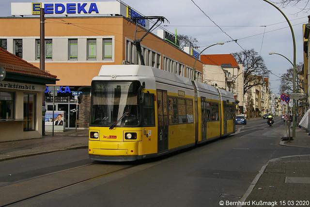 Europa, Deutschland, Berlin, Treptow-Köpenick, Treptow, Adlershof, Dörpfeldstraße, südwestlich der Haltestelle Marktplatz Adlershof