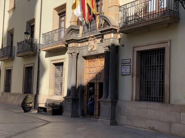 Fachada del Museo de Arte Sacro de Teruel