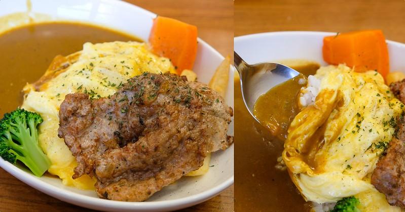 【台南美食】小東門咖哩 海安店 採用溫體豬肉~ 嫩煎豬里肌肉好吃!咖哩飯98元起!