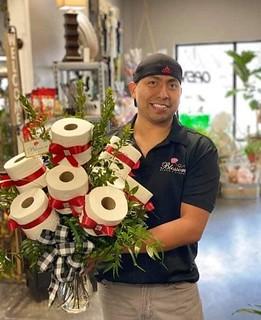 Florista reinventado con wc