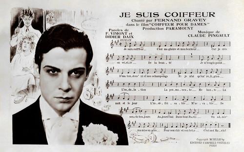 Fernand Gravey in Coiffeur pour dames (1932)