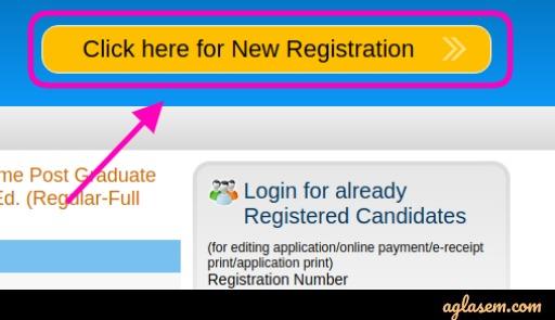 MAH M.Ed CET 2020 Application Form New Registration
