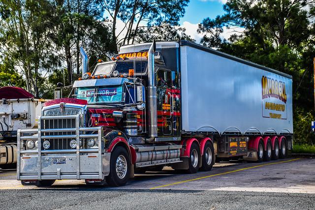 Murrel #legend900 #kenworthaustralia #kenworthtrucks #kenworth #brownandhurley #cumminsdiesel #cumminssigniture #cummins #trucking #outbacktruckers #trucks #thermoking #heavyhaulage #bigrigs #bigbonnet #brisbane #highway #roadtrainsaustralia #truckstop #